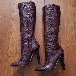 Jimmy Choo Python Boots